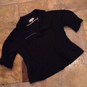 Andrea Oliver exquisite medium weight black jacket